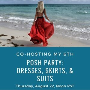 I'm so honored to be co-hosting my 6th Posh Party!